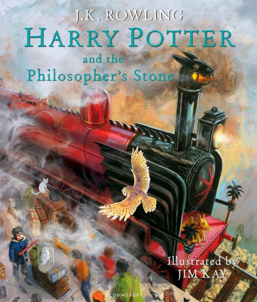 Harry Potter and the Philosopher's Stone (Harry Potter #1) by J.K. Rowling, Jim Kay
