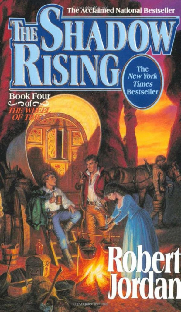 The Shadow Rising (The Wheel of Time #4) by Robert Jordan
