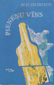 Pieneņu vīns